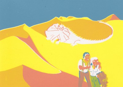 sahara_serpenter entre les dunes