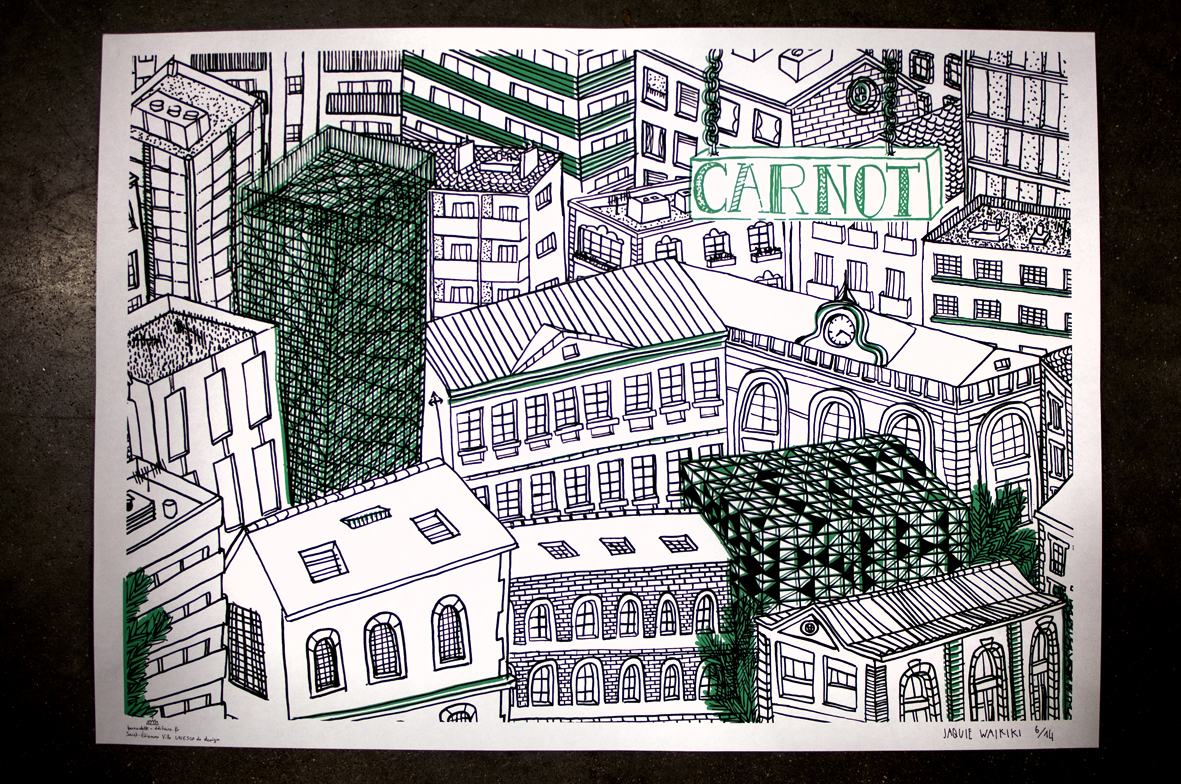 The Roof Is On Top *Carnot (affiche)