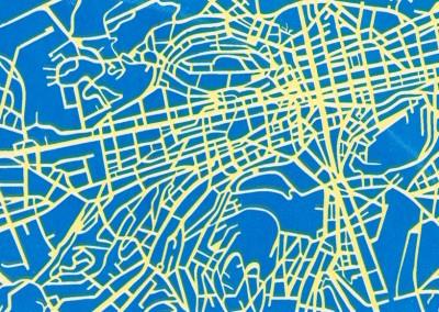 sainté map
